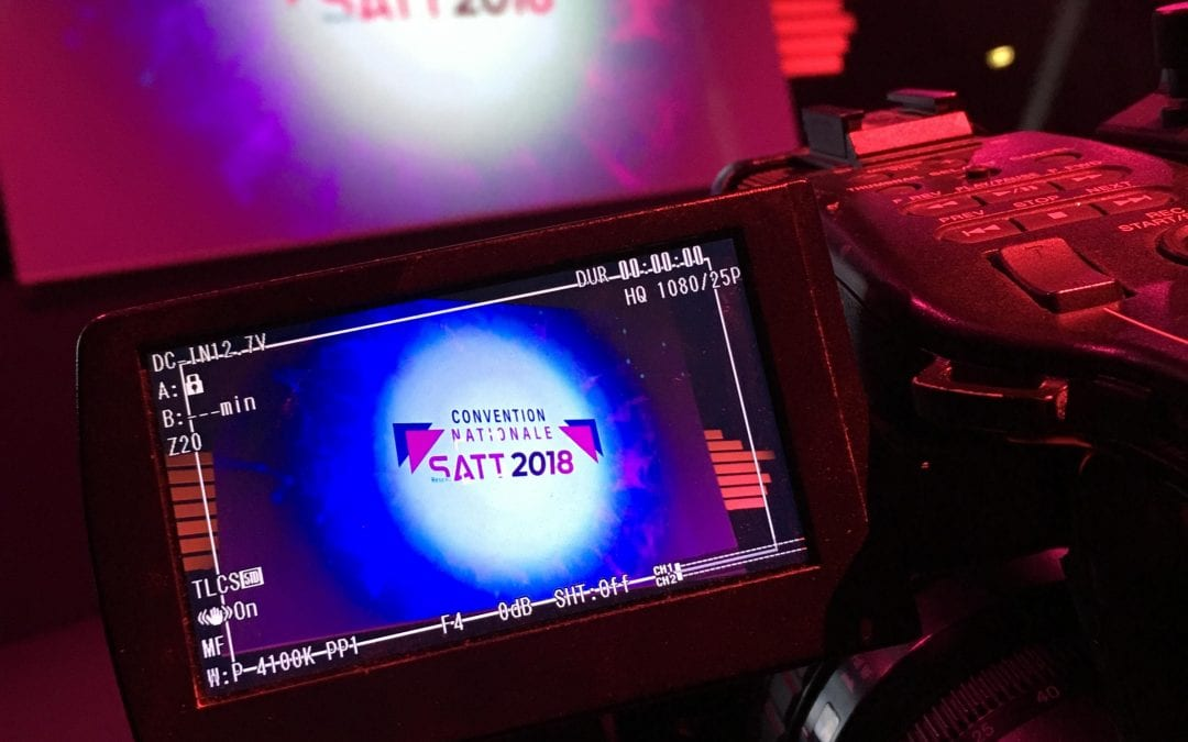 Captation et streaming de la Convention nationale des SATT