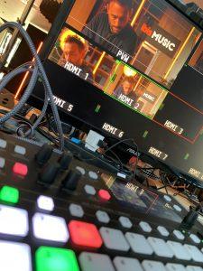 Réalisation live streaming musique
