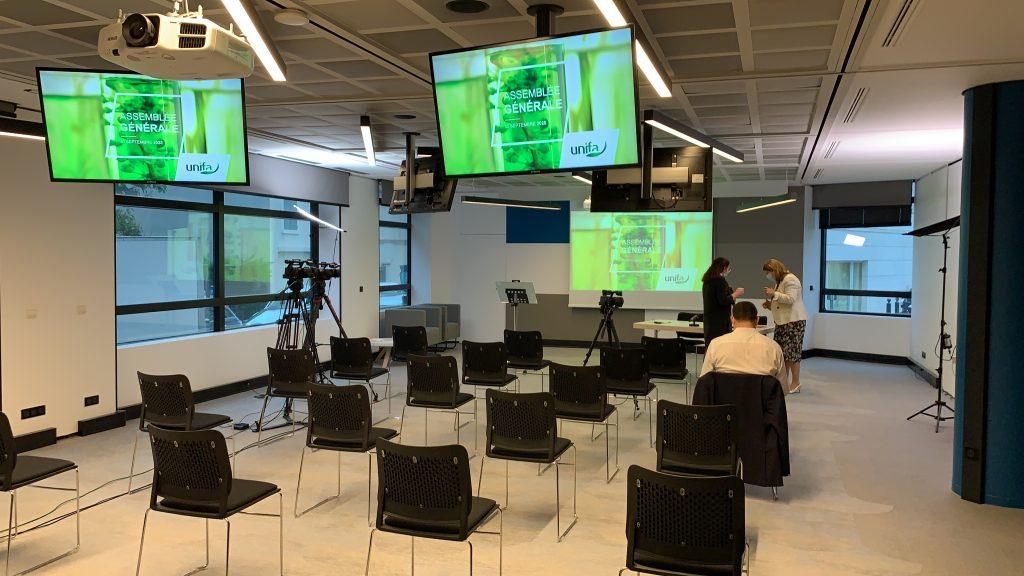 Streaming pour l'Assemblée générale UNIFA