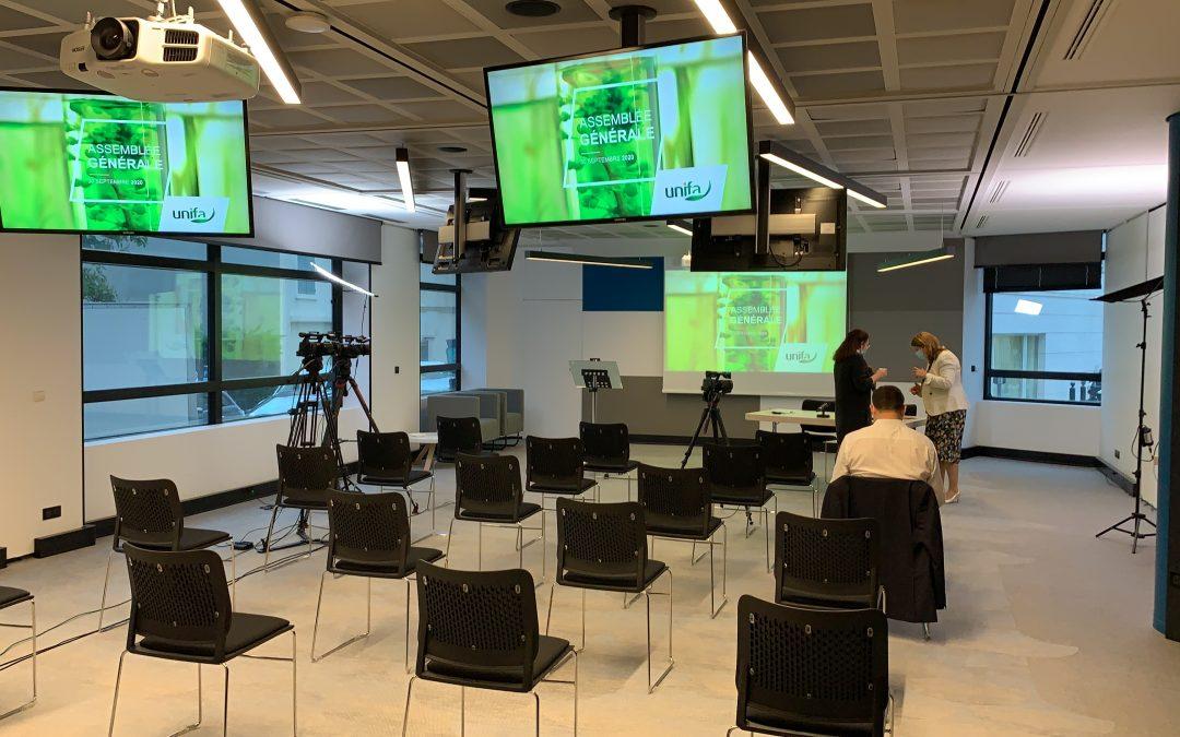 Streaming assemblée générale UNIFA