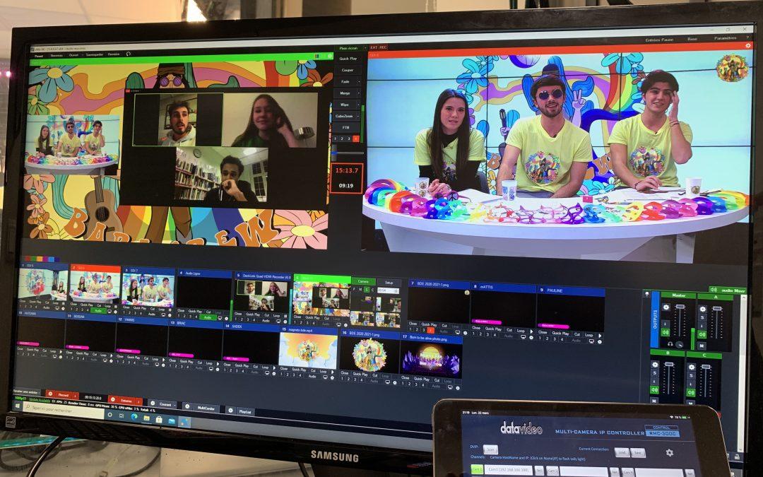 Animation live et duplex pour la BDE de l'IESEG